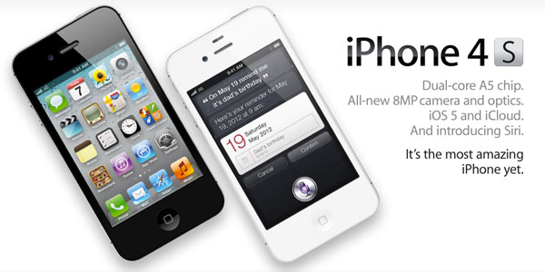 iPhone 4s in short supply at all carriers.