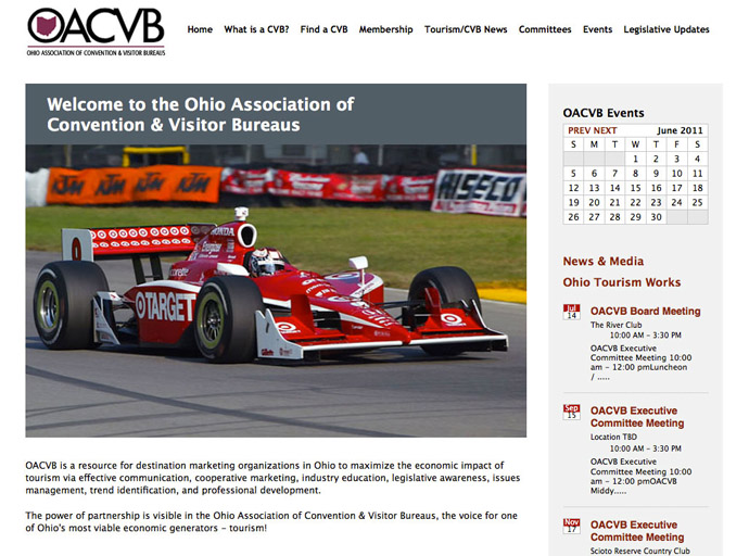 OACVB Association Website